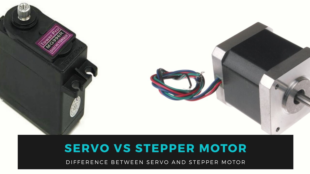 Servo Motor vs Stepper Motor | What is best for your project │Motion Control Training
