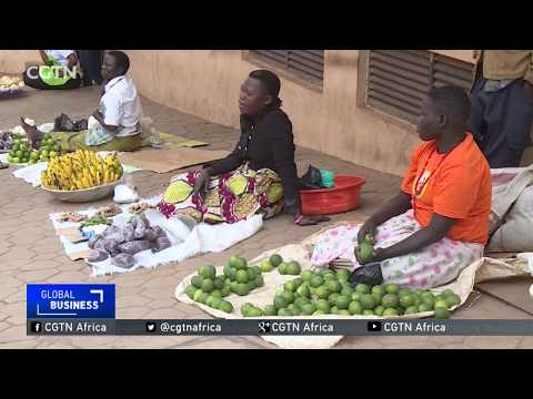 Ugandan female street traders benefit from free business skills