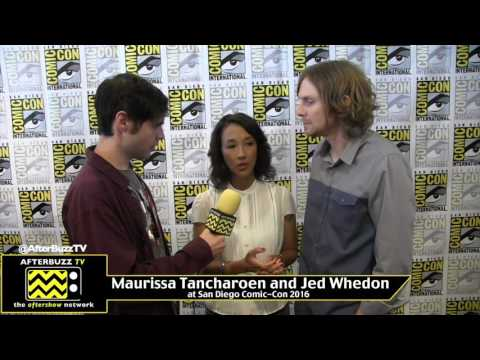 Maurissa Tancharoen and Jed Whedon (Agents of Shield) at San Diego Comic-Con 2016