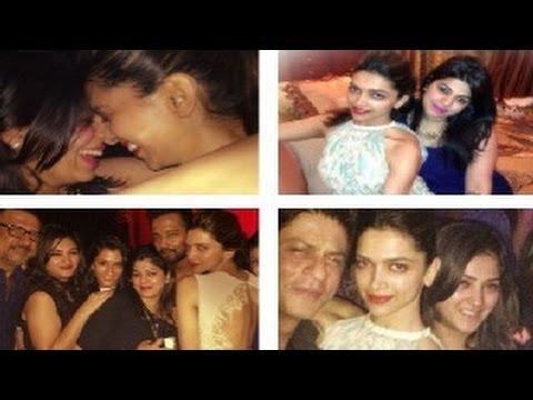 Deepika Padukone & Shahrukh Khan HAPPY NEW YEAR party