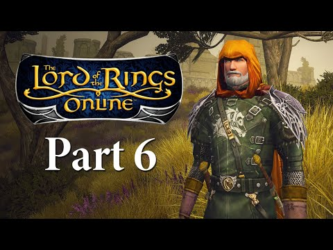Lord Of The Rings Online Gameplay Part 6 - To Combe - LOTRO Let's Play Series