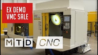 1 MACHINE EX DEMO - FANUC ROBODRILL VMC