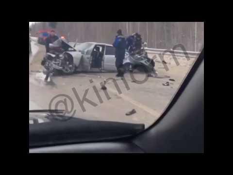 Авария на автодороге Пыть-Ях - Нефтеюганск.