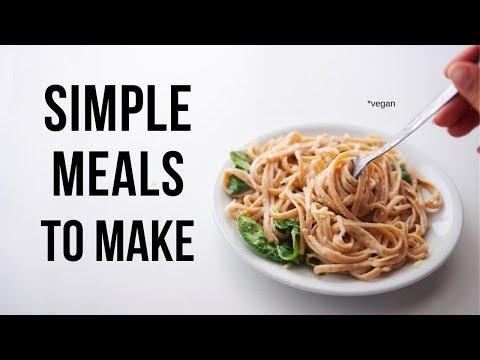 Vegan Dinners I made this Week!