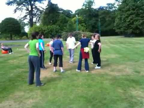 Group Fitness Games 14