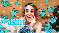 asmr doing *imara joella's* FAVOURITE TRIGGERS ~mic scratching, mouth popping, repeating *PUCK*  ;))
