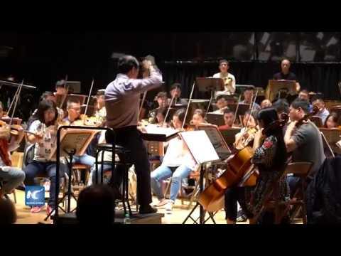 ¡Lista!, la Orquesta Sinfónica Quingdao de China en Buenos Aires
