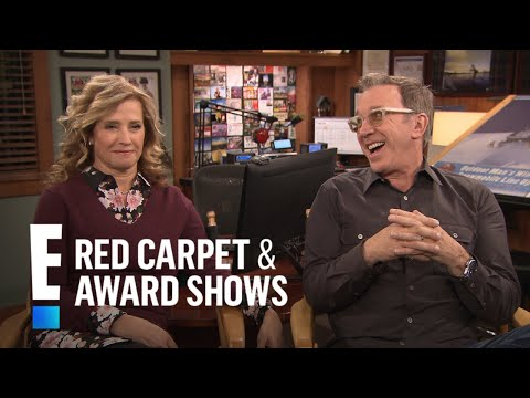 Tim Allen & Nancy Travis Reveal Why They Won't Mention Trump  E! Red Carpet & Award s