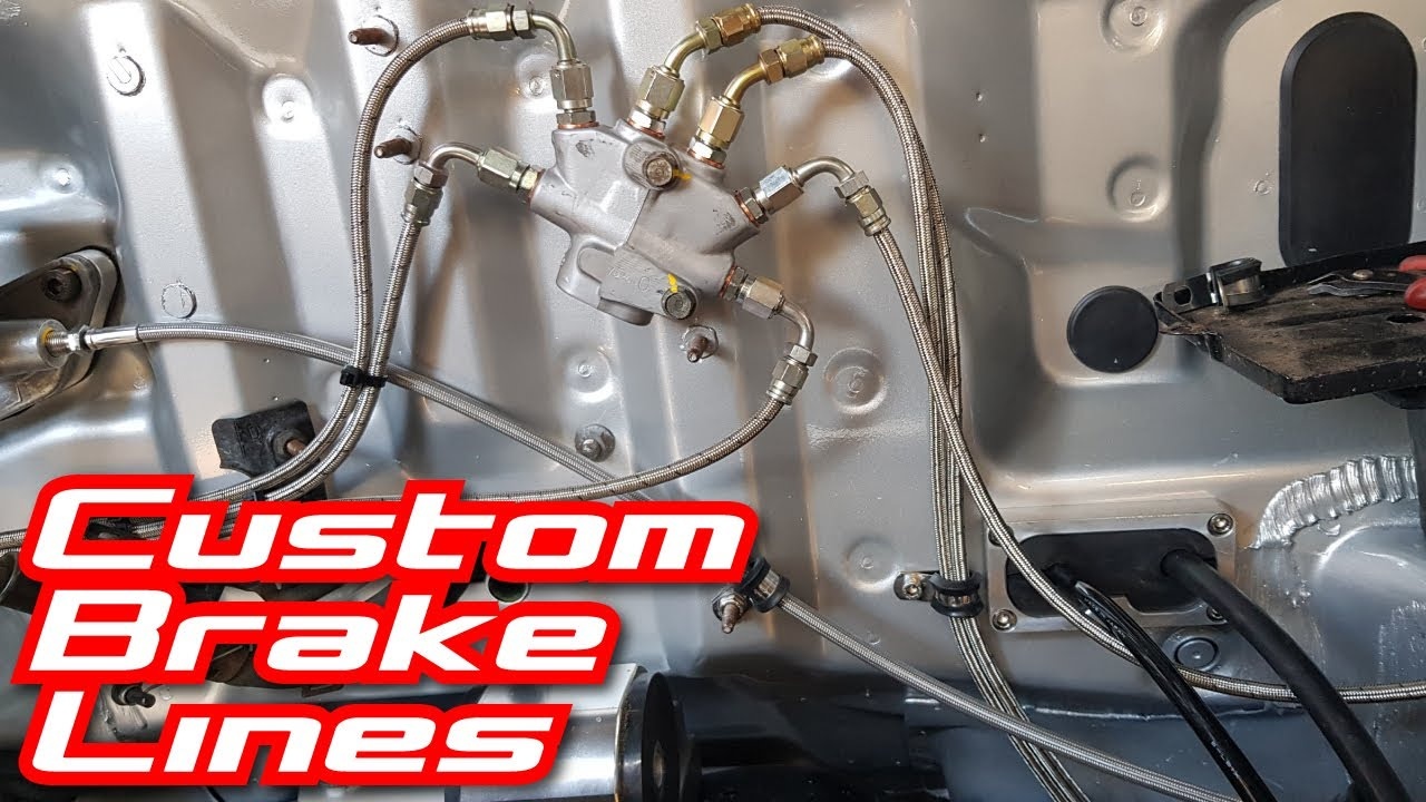Download Making custom brake lines for the Civic -3 AN stainless braided lines