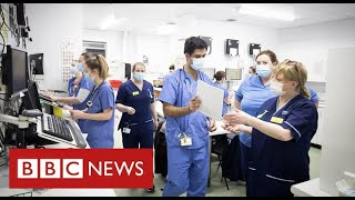 """1% NHS pay offer during pandemic is """"worst kind of insult"""" say unions - BBC News"""