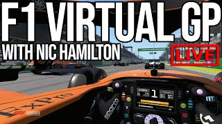Taking On The F1 Virtual GP With Nic Hamilton