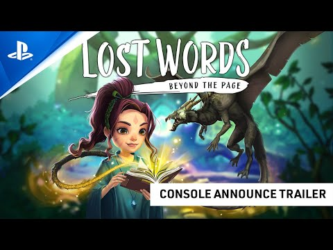 Lost Words: Beyond the Page – Release Date Trailer   PS4