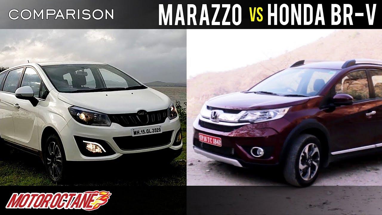 Mahindra Marazzo Vs Honda Brv 2018 Comparison Hindi Motoroctane