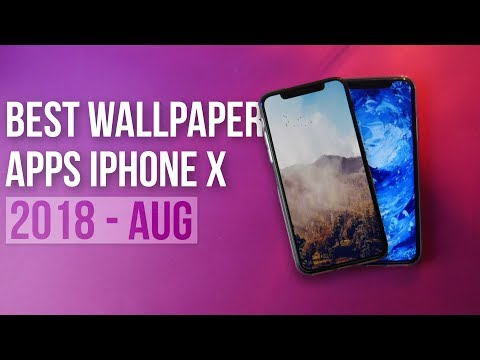 Best Wallpapers Apps For iPhone X/XS/XS Max in 2018!!!