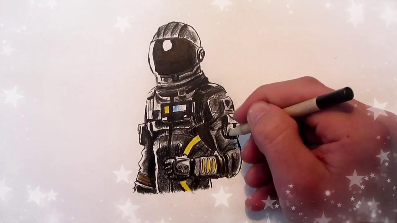 Speed Drawing Dark Voyager