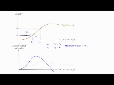 Introduction to Production Introduction (Average Product, Marginal Product, Total Product)