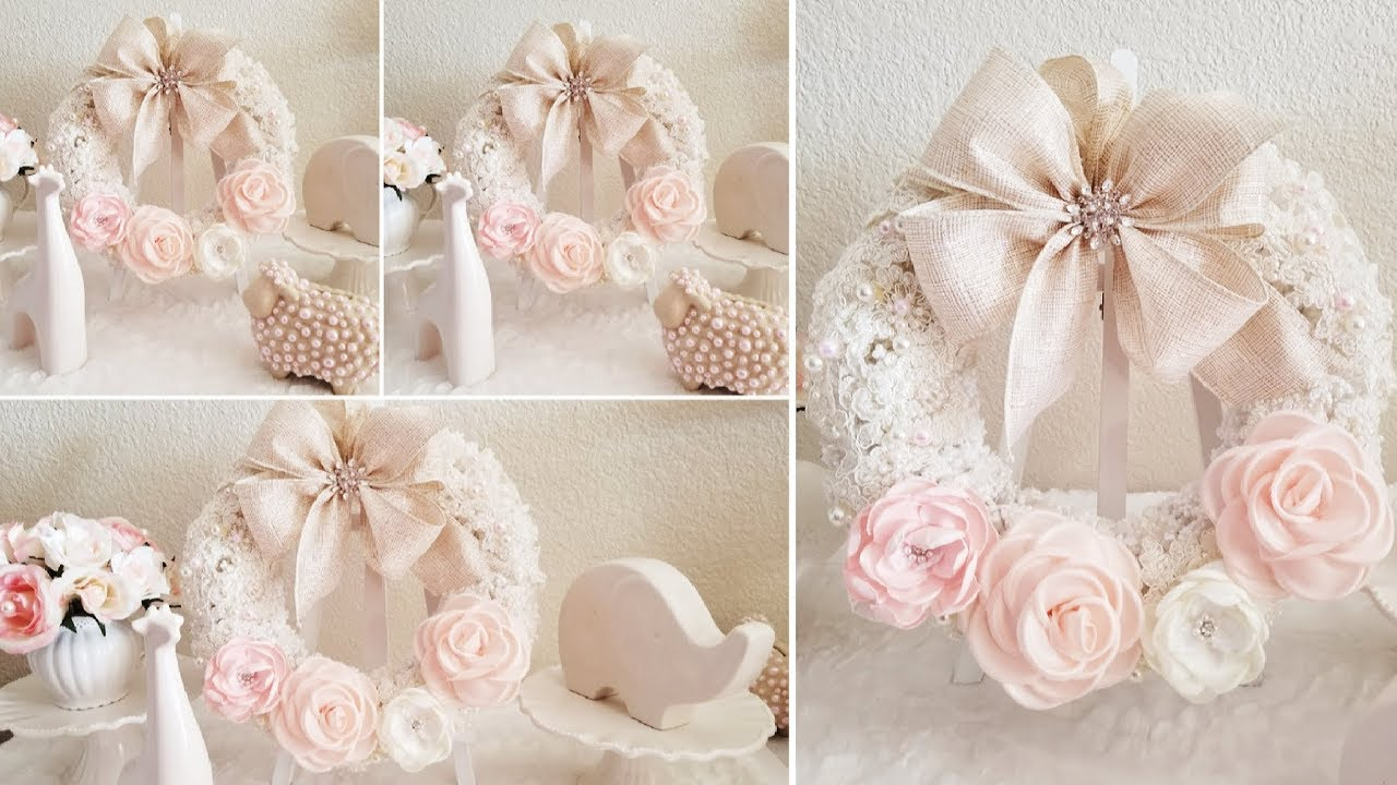 Beautiful Chic Baby Shower Ideas Centerpiece Decor Easy And