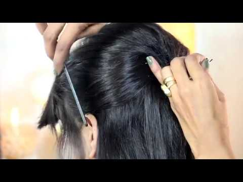 Latest Indian Traditional Hair Style Cute Special Design With