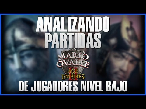 ANALIZANDO PARTIDAS DE JUGADORES NUEVOS AGE OF EMPIRES 2