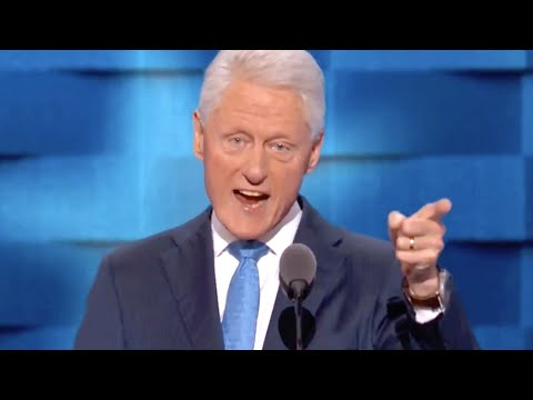 Bill Clinton's Full 2016 Democratic National Convention Speech