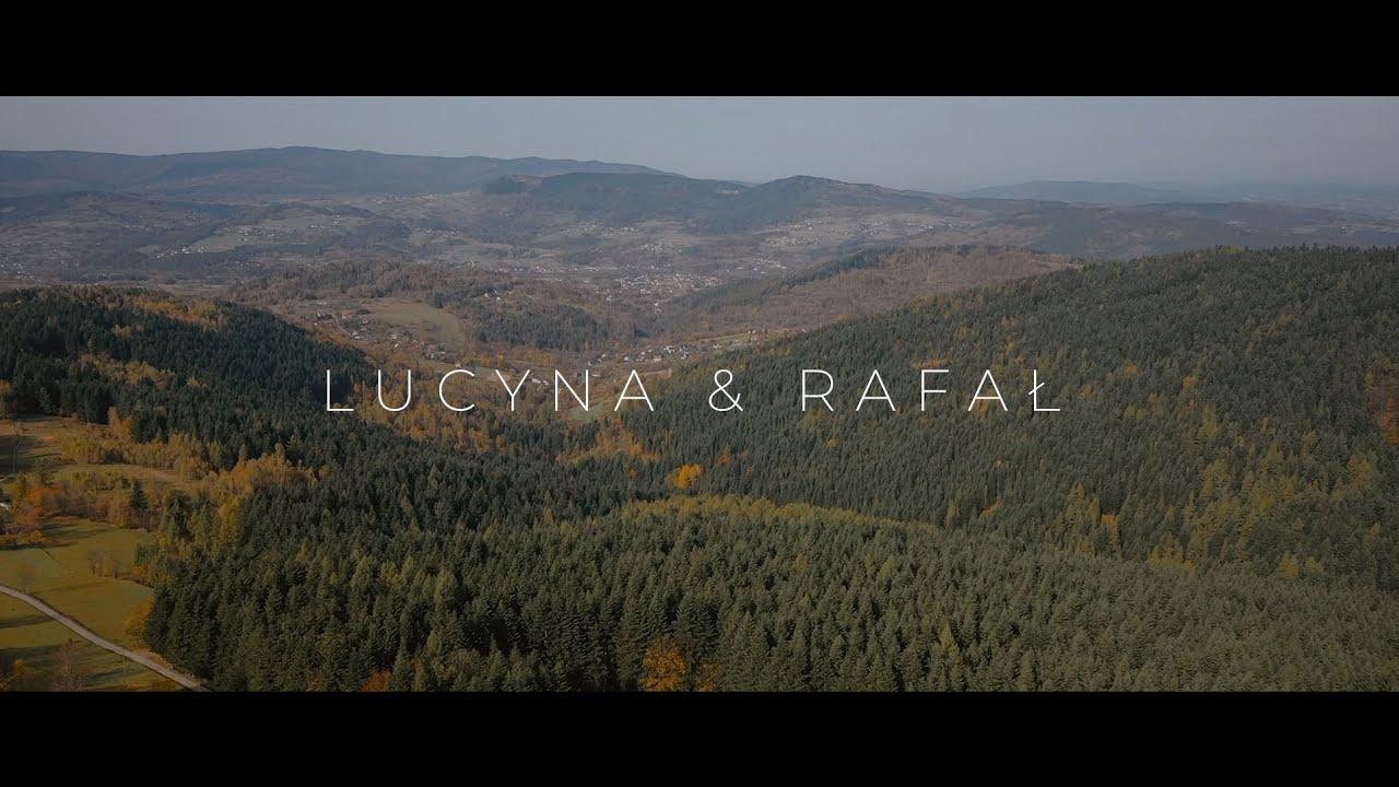 WESELE W GÓRACH! Lucyna i Rafał NOWOCZESNY FILM ŚLUBNY 4K STUDIO BESKIDZKI RAJ