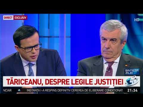 Călin Popescu-Tăriceanu, la Sinteza zilei: Un miting de susținere mi se pare absolut inutil