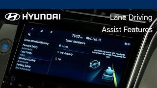 Lane Driving Assist Features | TUCSON | Hyundai