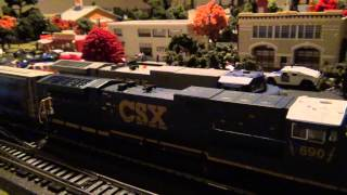 CSX Broadway Limited AC6000 2012 Relese Review