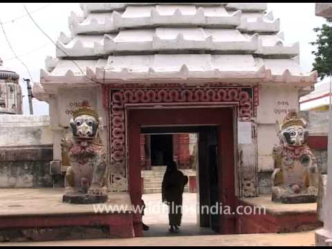 The Lingaraja Temple entrance in Bhubaneswar, Orissa