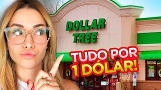 PERDENDO A LINHA NA DOLLAR TREE - TUDO POR 1 DOLLAR!