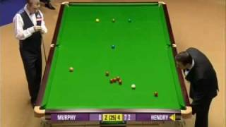 Stephen Hendry 147 World Championship 2009 Crucible Sheffield Closed Captions HQ