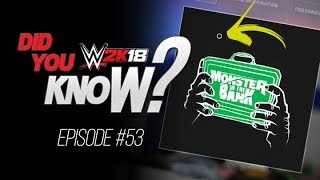 WWE 2K18 Did You Know? Useful Logo Editor Tip, Buff Bagwell, Unused Motions & More! (Episode 53)