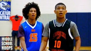 Tyger Campbell vs Isiah Moore - Top Point Guards in 2019 - Hoosier Invitational Tournament