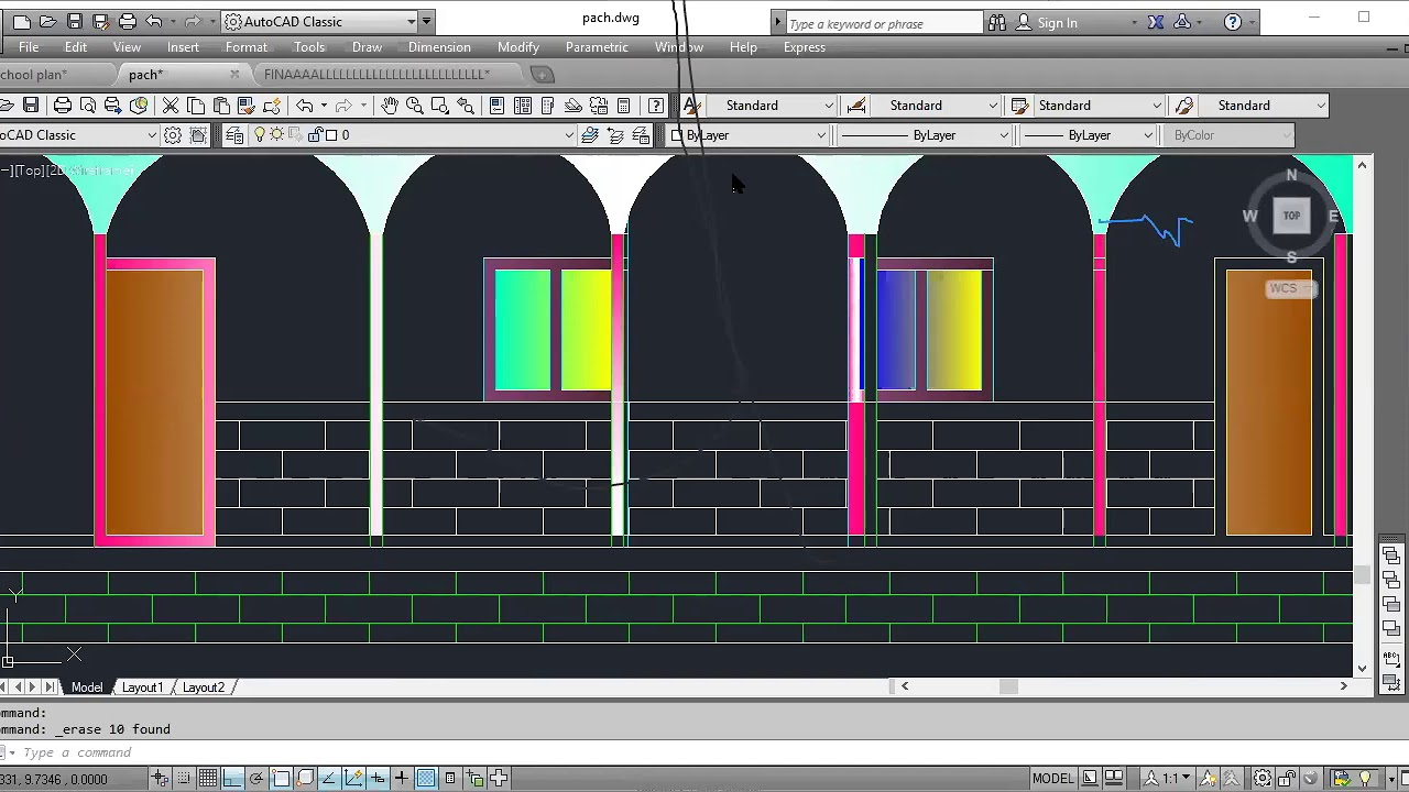 Download front view autoCad