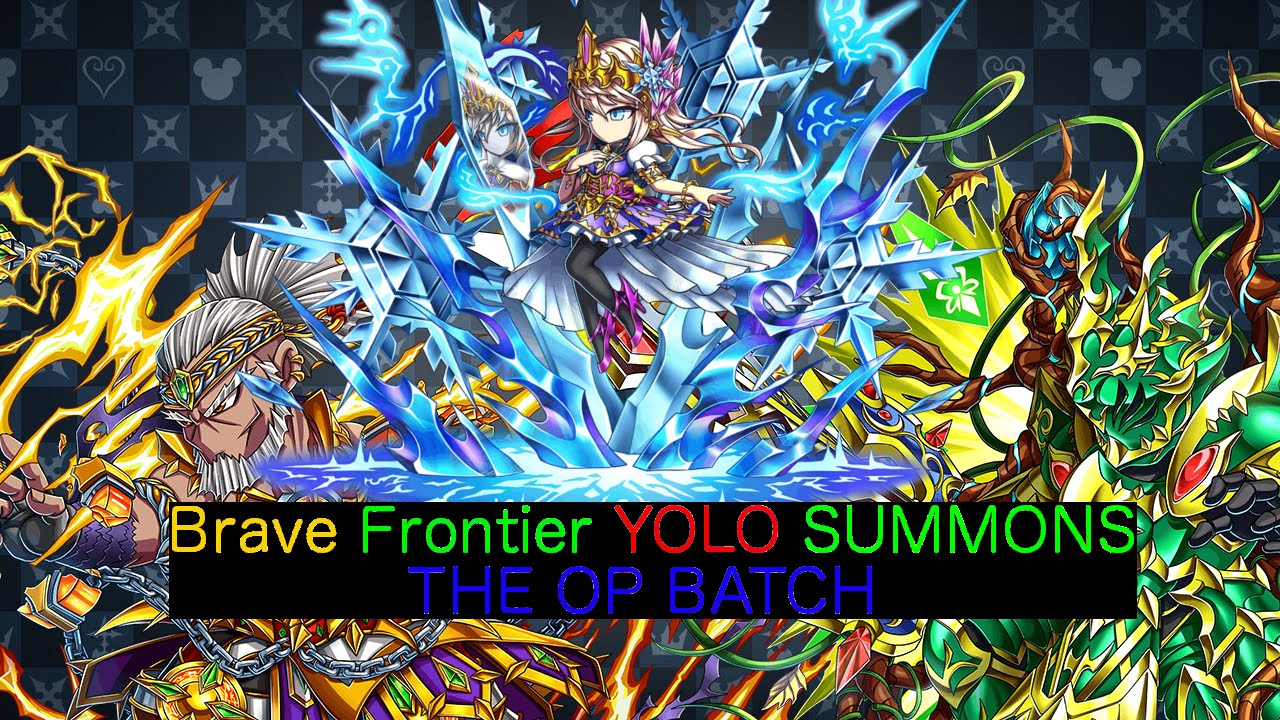 Brave Frontier : 5 Summons for Lune, Dolk, and Rahgan  The OP Batch is Here  !