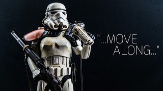 Hot Toys Star Wars A New Hope Sandtrooper 1/6 Scale Movie Masterpiece Figure 4K Review