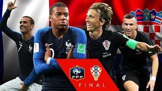 Croatia VS Franta Finala Cupei Mondiale/Statisitcii