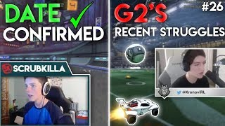 Scrub announces DATE for TEAM reveal | Kro about G2's recent STRUGGLES - Best of RL Streams #26