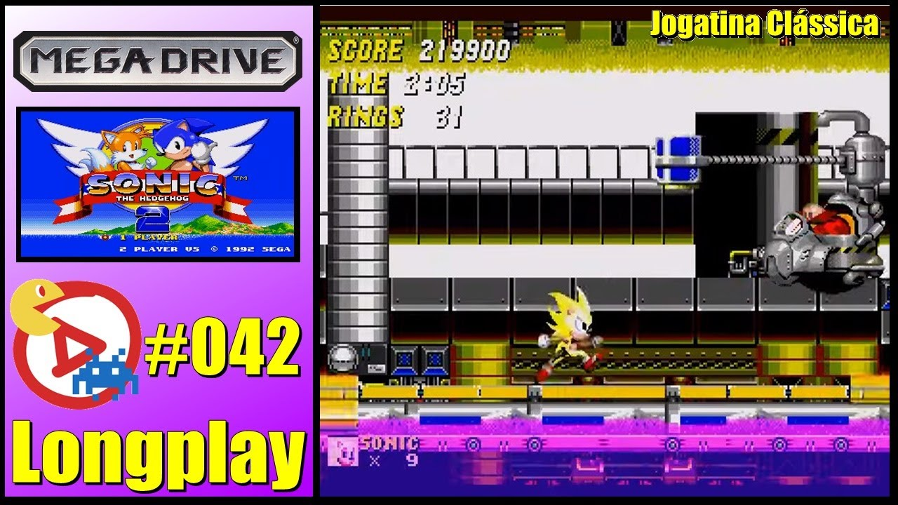 Mega Drive Longplay Sonic The Hedgehog 2 Youtube