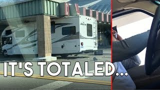 We Wrecked a Rental RV...