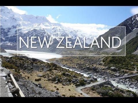 2017 NEW ZEALAND HD | South Island | Auckland | Mt.Cook | Queenstown | Dunedin