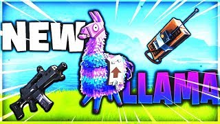 New LLAMA LOOT CRATE in Fortnite! Get INFINITE LOOT Best Spawn Location's!