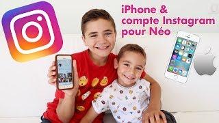 NÉO SE LANCE SUR INSTAGRAM + 1ER IPHONE !📱