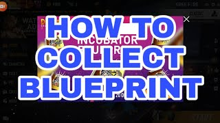How to collect blueprint