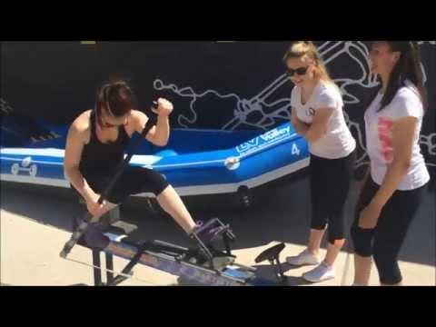 GB Rafting Girls Team complete #4MIN Challenge!