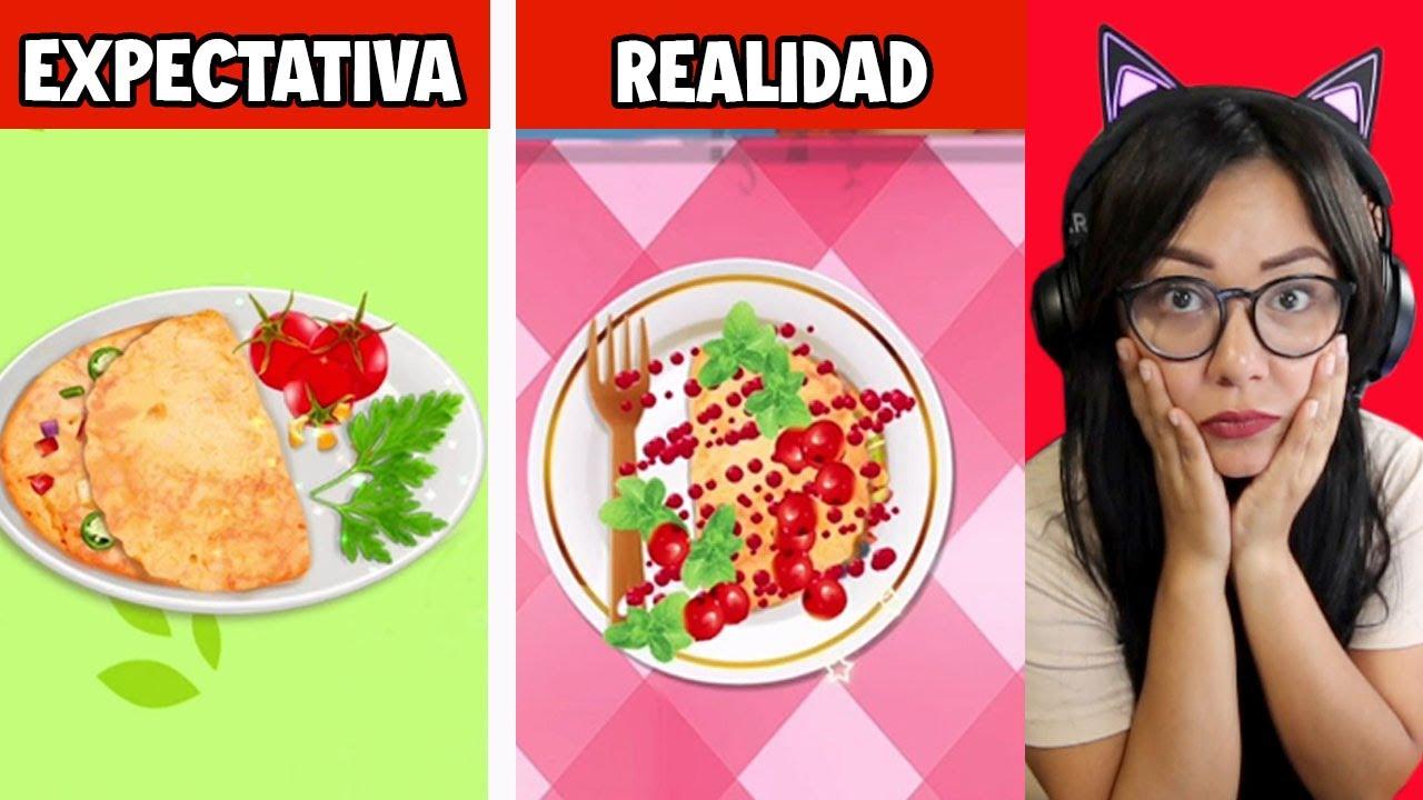 SOY LA PEOR COCINERA | FOOD GAMES | Kori