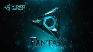 Cinematic Title Design: Fantasy FX Tutorial! 100% After Effects!