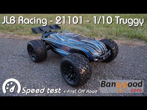 • JLB Racing - 21101 1/10 4WD Truggy - Speed test •