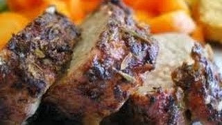 Pork Tenderloin With Roasted Garlic - Healthy Recipes - Quick Recipes - How To