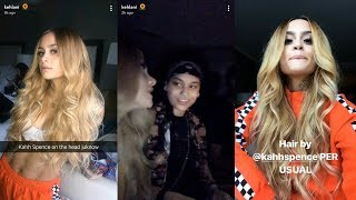 Kehlani | Snapchat Story | 27 October 2017 w/ Girlfriend Shaina